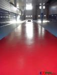 Наливной пол в гараже Минск