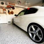 Наливной пол в гараже в Гродно видео